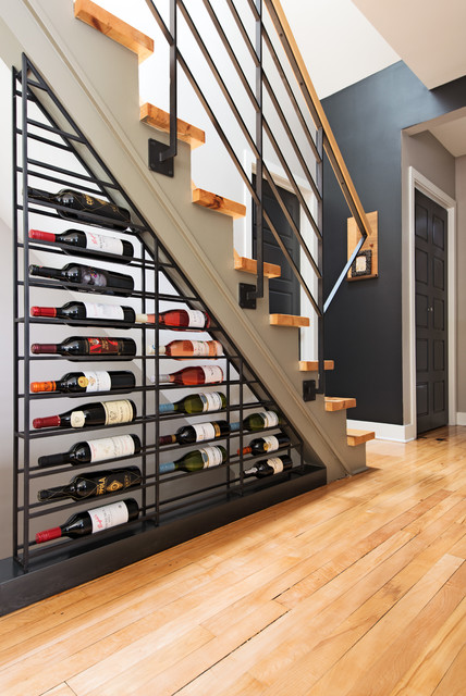 Best-storage-solutions-wine-cellar-stair