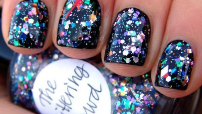 20 Nail Art Ideas for New Year Night