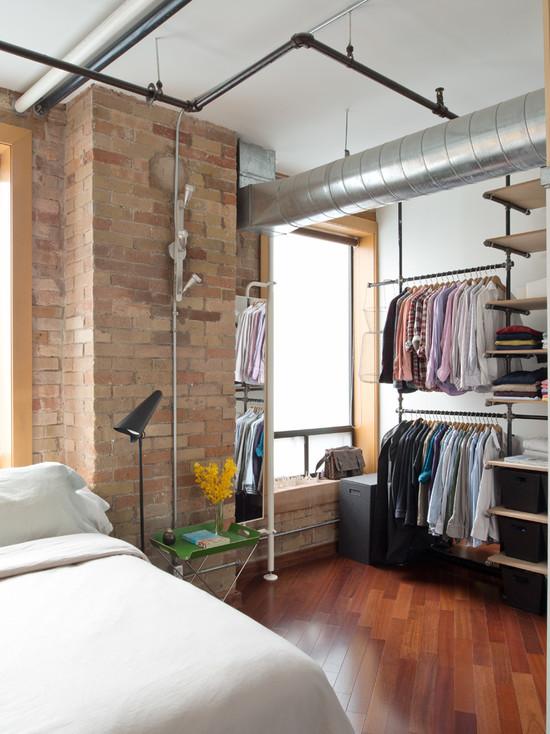 loft-style-design-ideas-closet