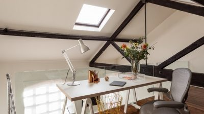 Home office – comfortable working space