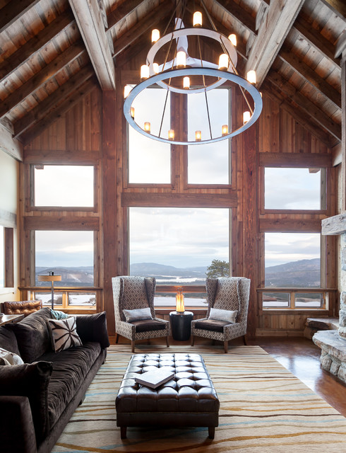 rustic-house-living-room-with-armchairs
