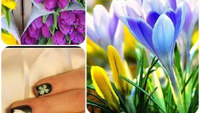 Bright spring 2015. Nail art ideas