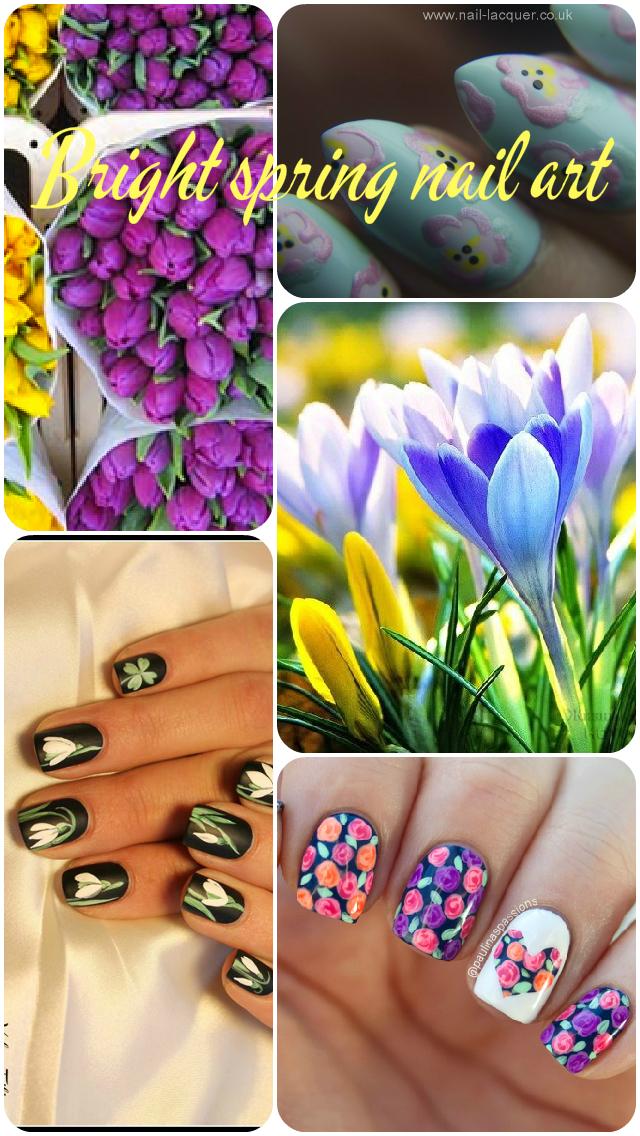 Bright-spring-nail-art-ideas