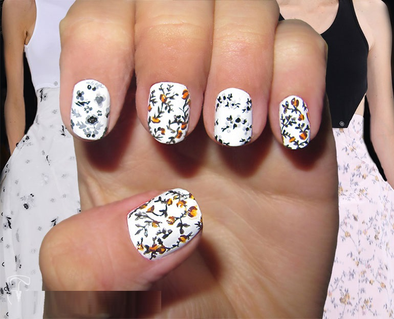 Christian-Dior-nail-art-ideas-for-spring