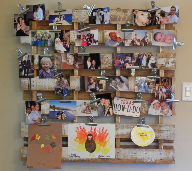 DIY-ideas-wall-decorating-photos-in-pallet
