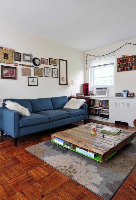 DIY-midcentury-living-room-coffee-table-pallet-ideas