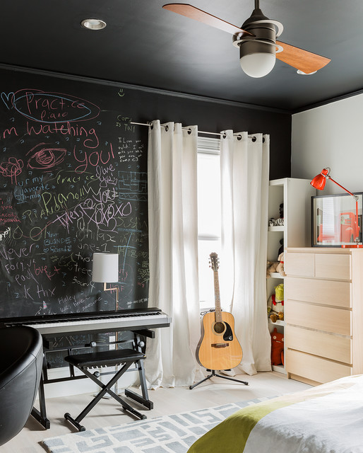 DIY-chalk-board-in-your-home-contemporary-kidsroom