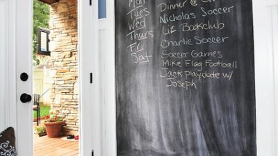 DIY. Chalkboard in your home