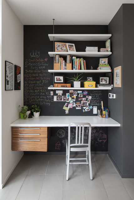 DIY-chalk-board-in-your-home-home-office-white-table