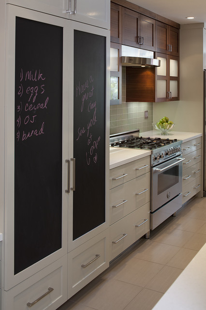 DIY-chalk-board-in-your-home-kitchen-contemporary