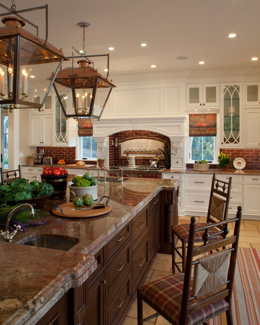 home-decor-with-lantern-brown-kitchen