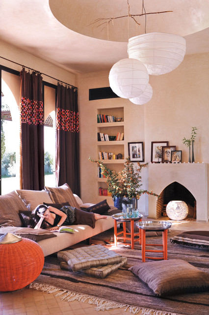 home-decor-with-lantern-living-room