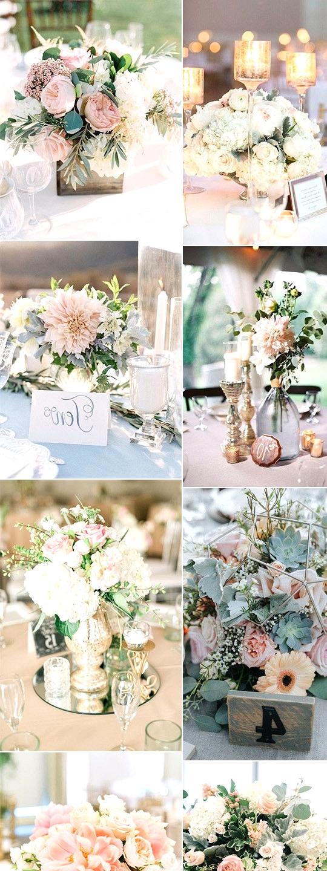 Elegant pink wedding centerpiece ideas for summer