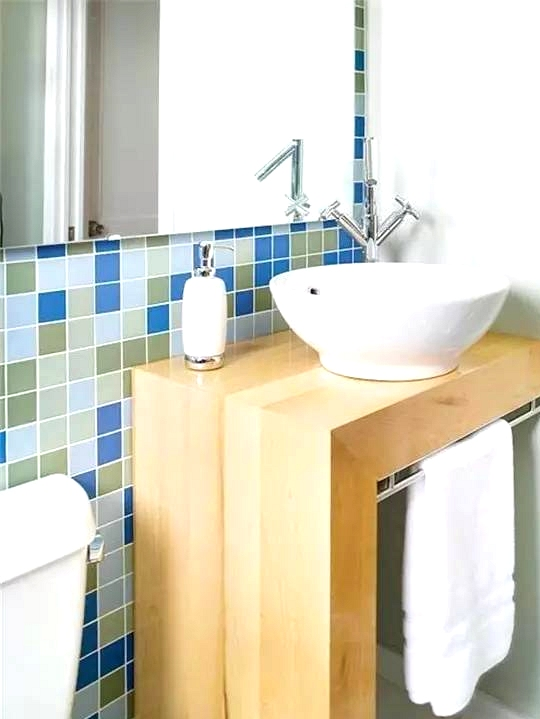 Streamline The Place With A Single Shelf Sink Table