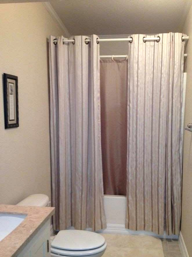 Bathroom Remodeling Ideas Using Shower Curtains