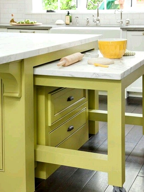 Hidden Furniture In The Small Kitchen Model