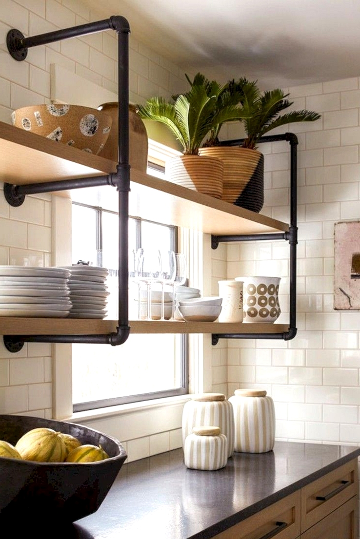 Use Open Shelves For More Modern Kitchen Remodeling Ideas