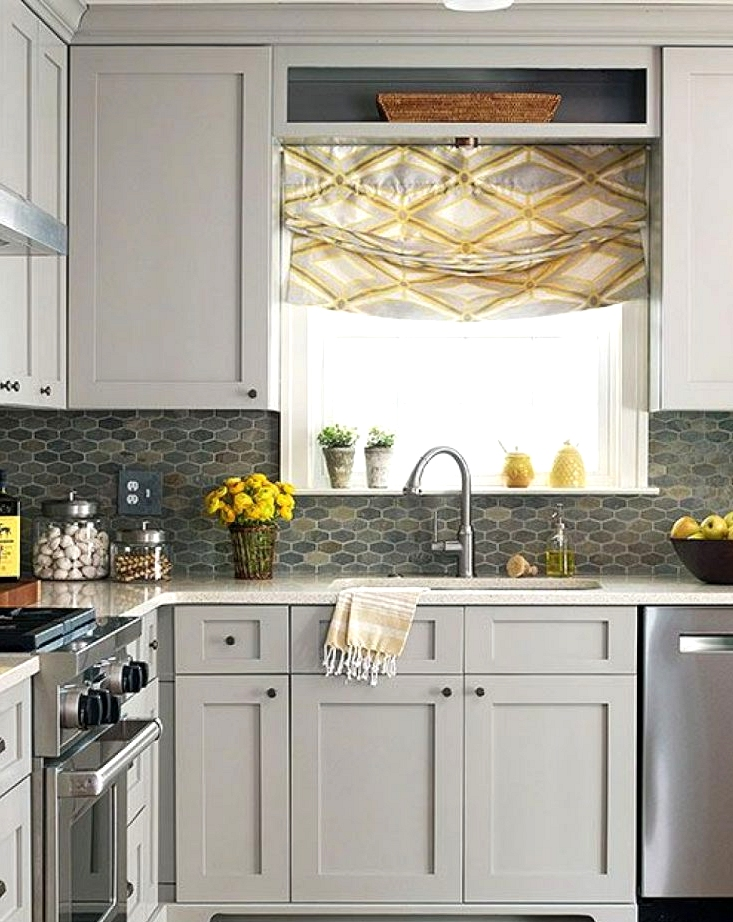 Use A Mirror As An Element Of Kitchen Remodeling Ideas