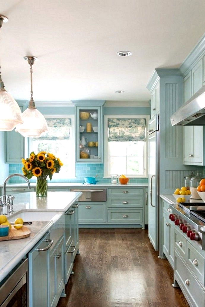 Exciting Colors kitchen