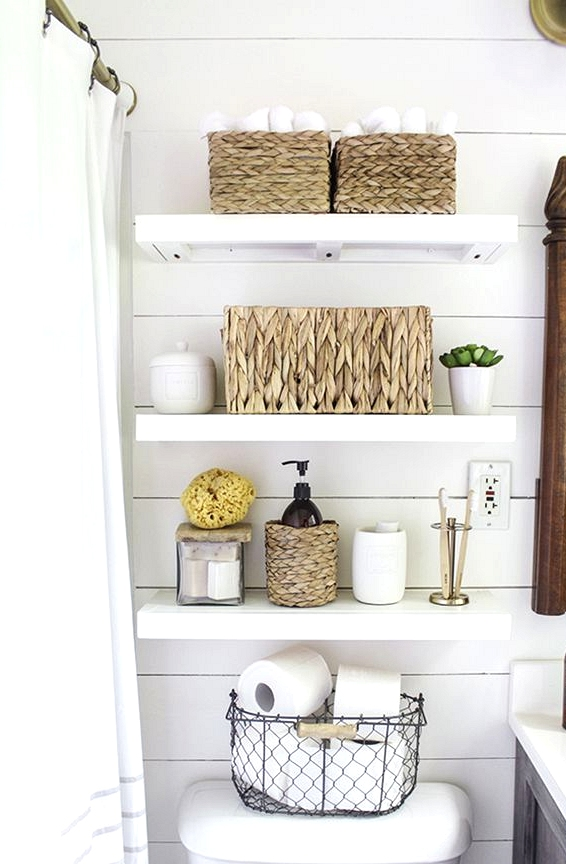 Shape Baskets For Bathroom Floating Shelves At Low Prices