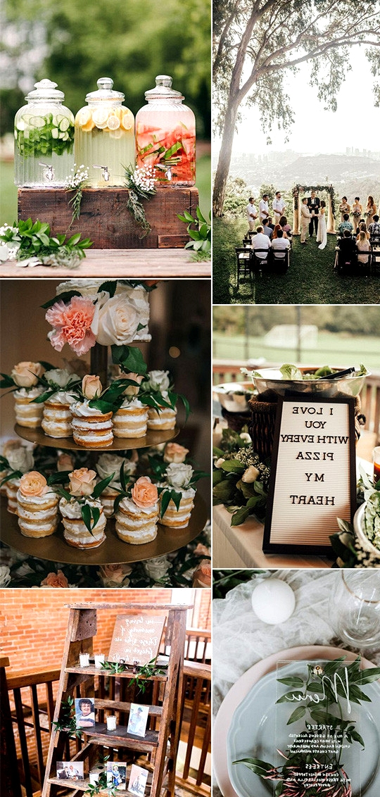 outdoor intimate small wedding ideas for 2020 trends