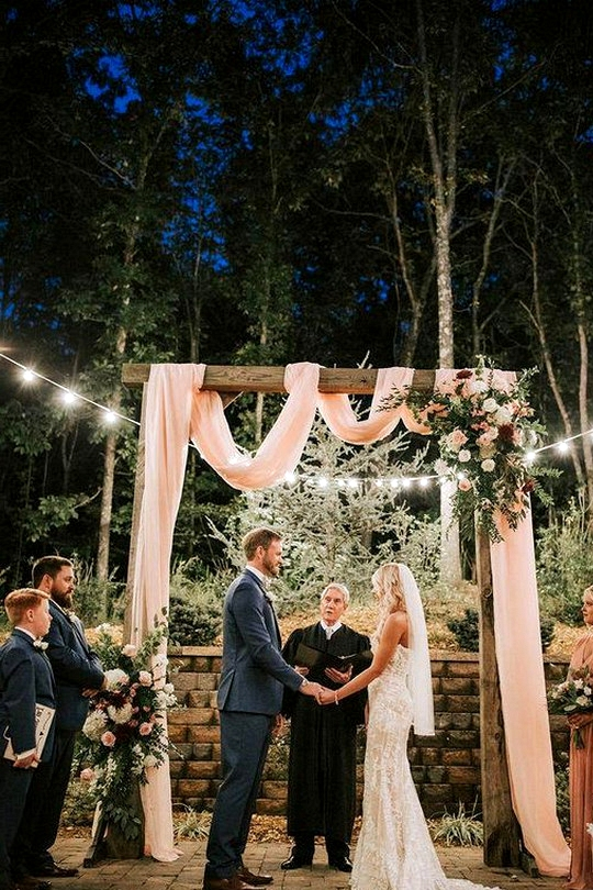small and intimate wedding ceremony ideas