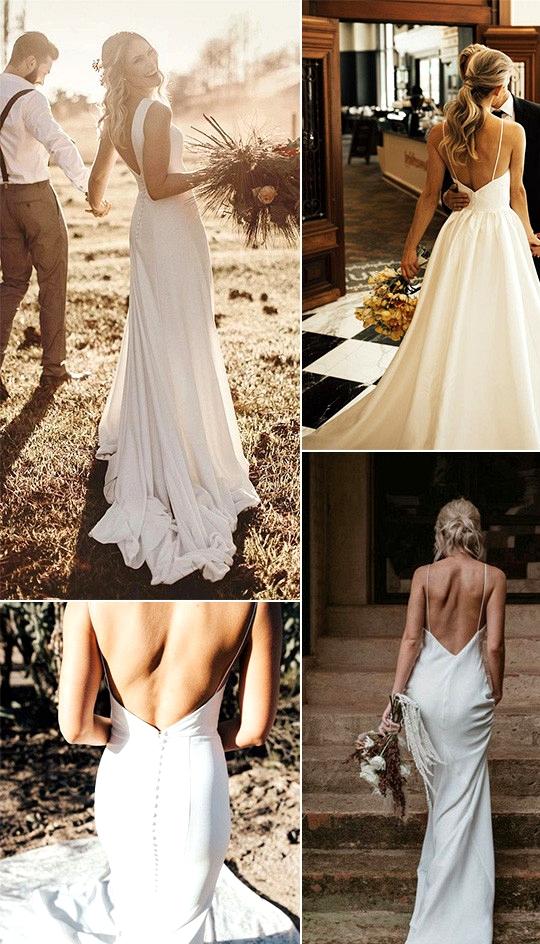simple and elegant wedding dresses