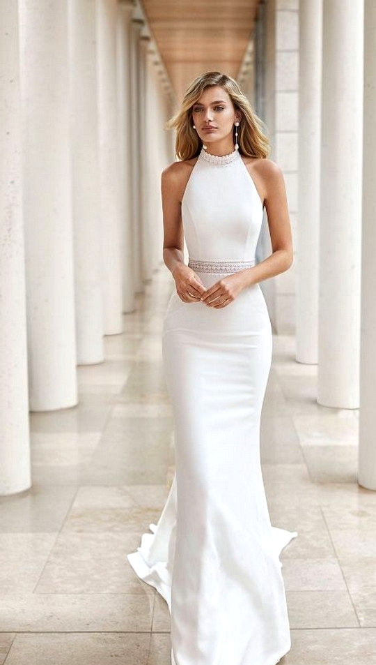 elegant Courtesy of Rosa Clara Wedding Dress