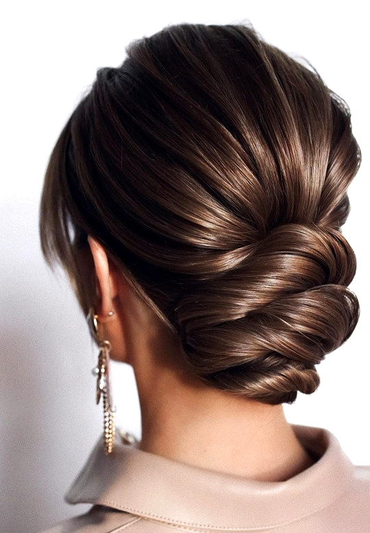 elegant updo wedding hairstyles for 2020 brides 25
