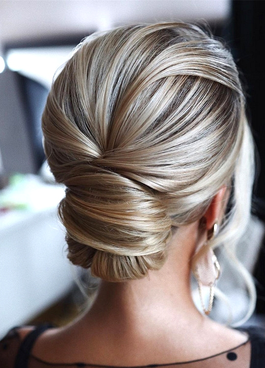 elegant updo wedding hairstyles for 2020 brides 23