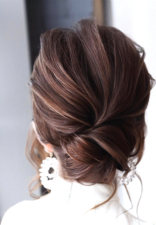 elegant updo wedding hairstyles for 2020 brides 3
