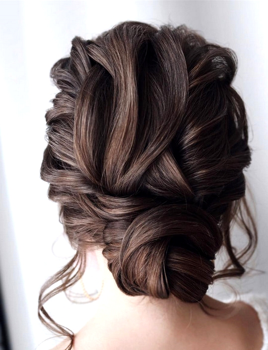 elegant updo wedding hairstyles for 2020 brides 6