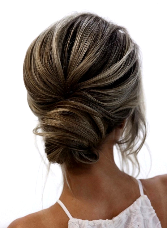 elegant updo wedding hairstyles for 2020 brides 11