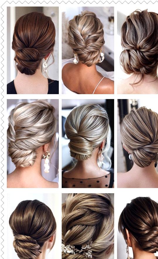 elegant bridal hairstyles updos