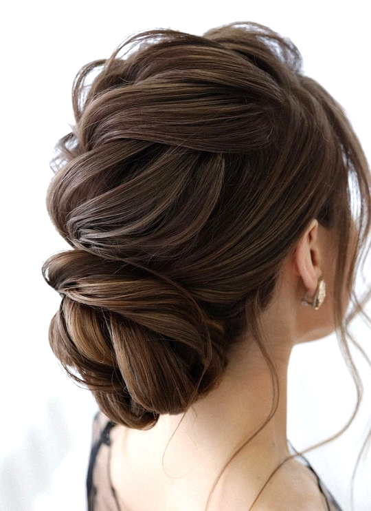 elegant updo wedding hairstyles for 2020 brides 4