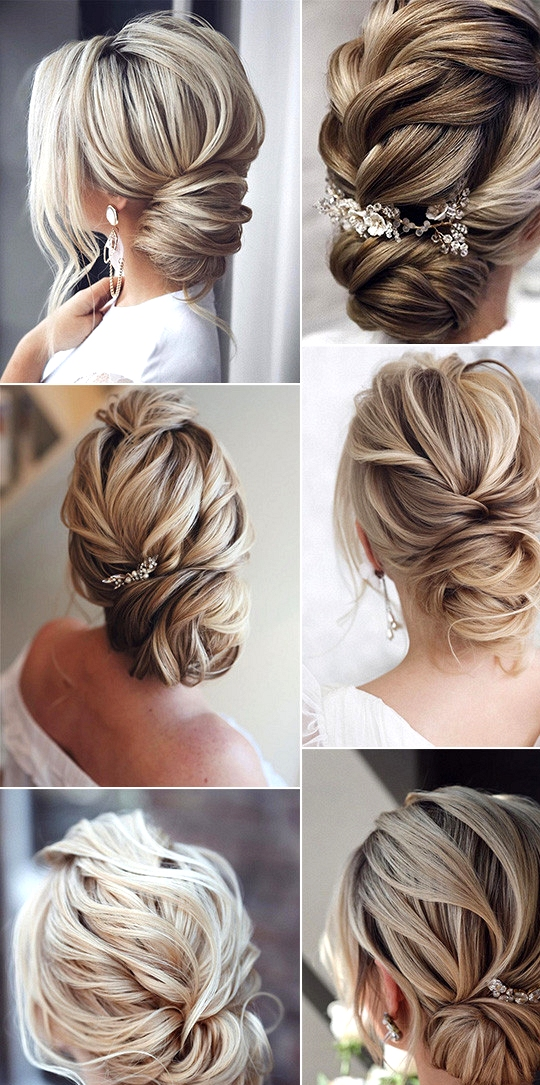 elegant updo bridal hairstyles for 2020