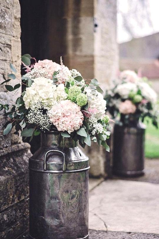 chic church wedding entrance decoration ideas