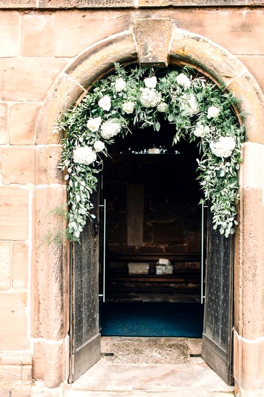 door decoration ideas for church weddings