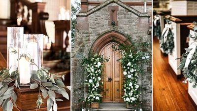 12 Elegant Church Marriage ceremony Ornament Concepts for 2020