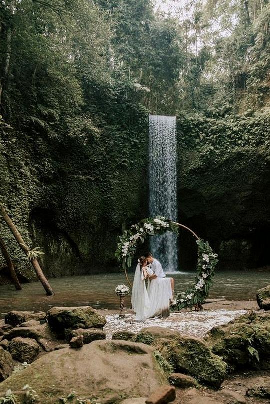 natural elopement wedding ideas