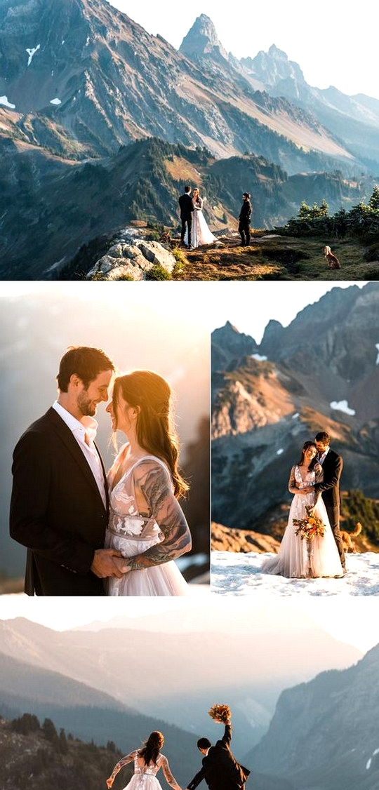 North Cascades elopement wedding ideas