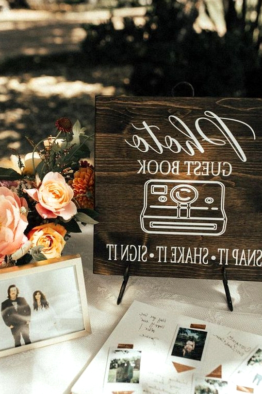 creative wedding guest book ideas