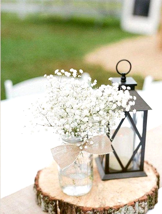 simple rustic wedding centerpiece ideas on a budget