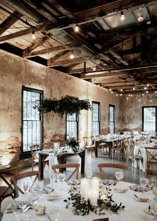 chic rustic wedding reception ideas on a budget