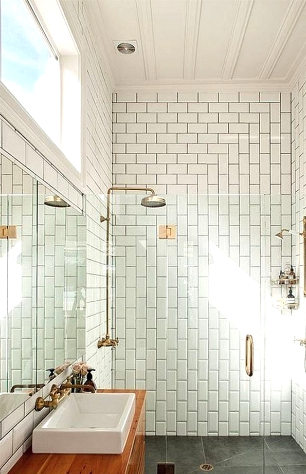 The Size And Motif Are Key To Bathroom Tile Ideas