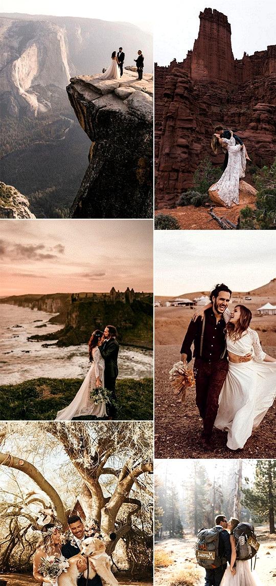 trending elopement wedding ideas for 2020