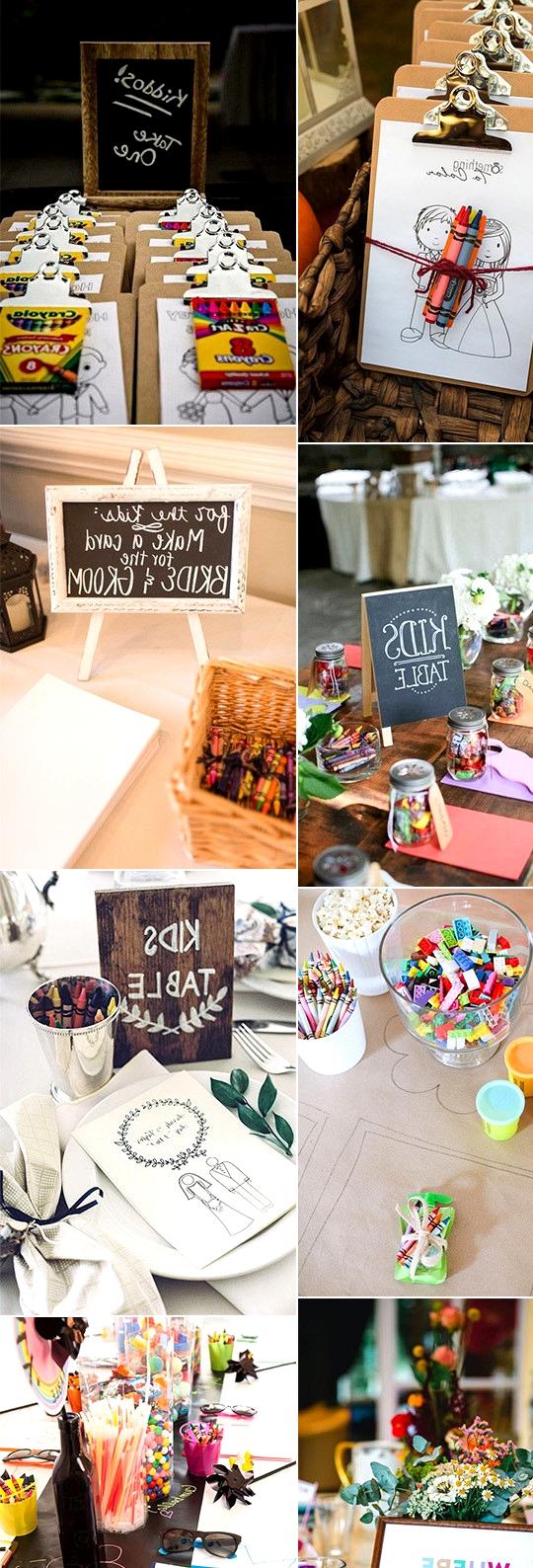 trending wedding ideas for kids at weddings