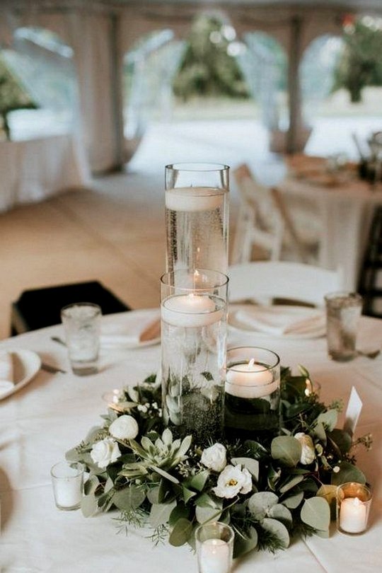 simple budget friendly wedding centerpiece ideas