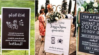 15 Unplugged Wedding ceremony Indicators for Your Large Day