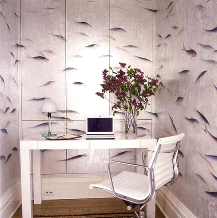 pretty home office ideas